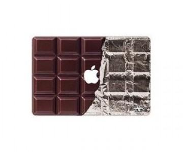 couvercle mac book en chocolat